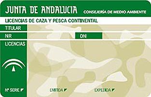 licencia de caza andalucia